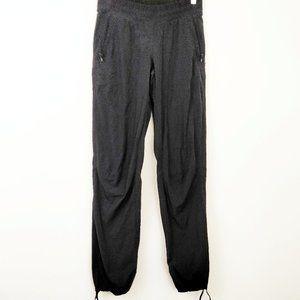 Lululemon Black Fleece Lined Jogger Leggings 4